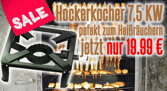 Hockerkocher Gaskocher